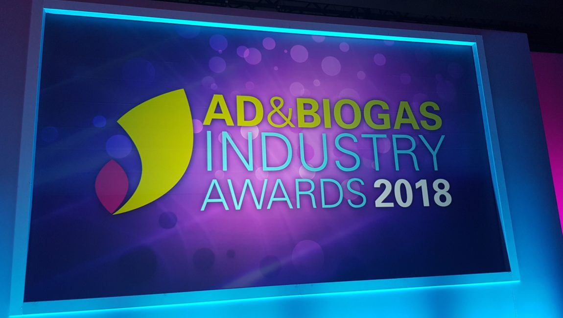 AD & Biogas Industry Awards 2018